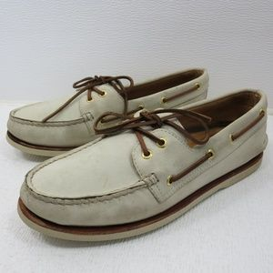 Sperry Nubuck Leather Casual Comfort Deck 10.5 M